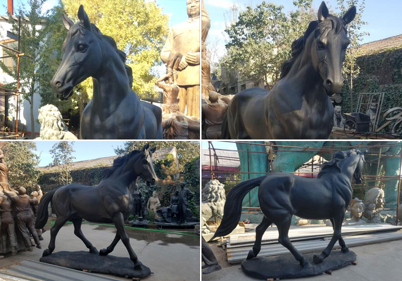 High Quality Large Bronze Horse Statues Outdoor