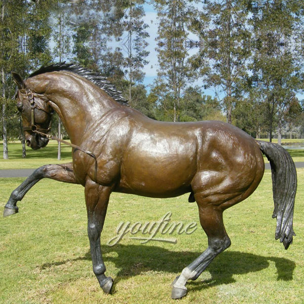 Life Size Bronze Horse Statue Washington decor With Directly Foundary for sale