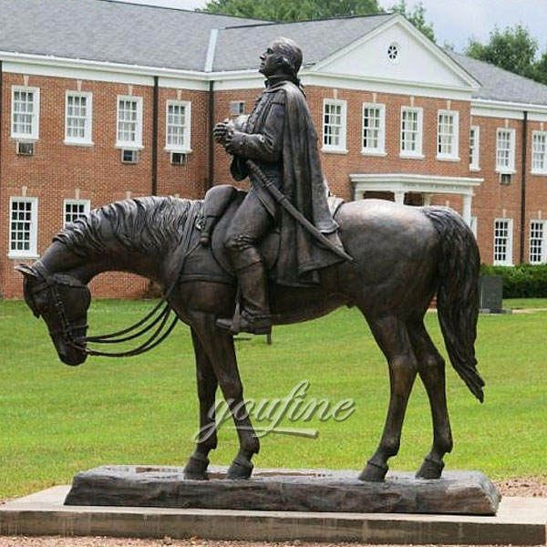 Outdoor napoleon bonaparte on his horse statue for sale uk