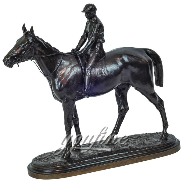 Outdoor-ornamental-Bronze-Equestrian-Horse-