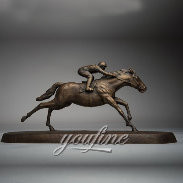 Popular-race-horse-sculpture-for-sale