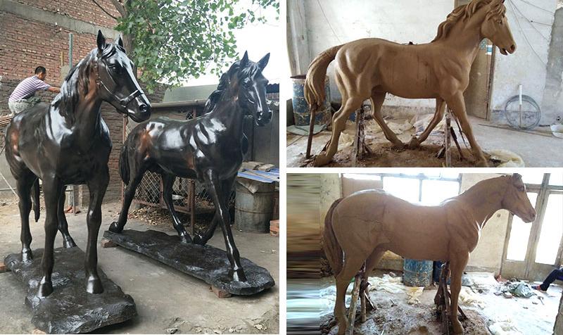 Bronze American Horse Sculpture,